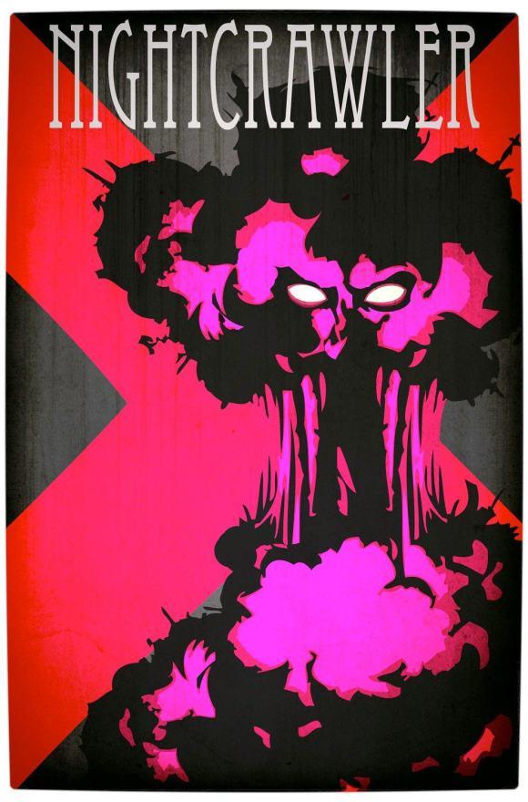 Vamers - Artistry - Minimalist X-Men Poster Art - Night Crawler
