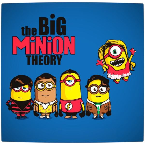 Vamers - Artistry - The Big Minion Theory - Gru's Minions Mash-Up with The Big Bang Theory - By Bruno Clasca