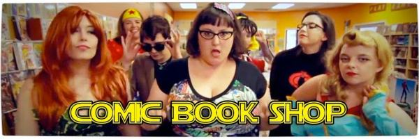 Vamers - Fandom - Comic Book Shop - Thrift Shop Parody - Geeks Be Cray