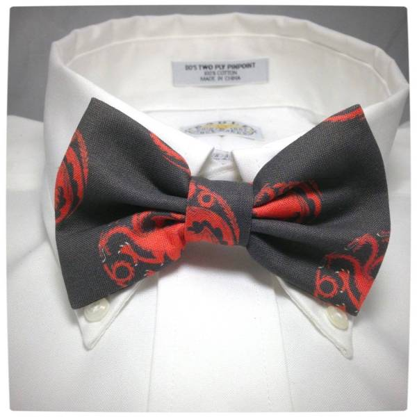 Vamers - Geek Chic - Geek-Up with these Game of Thrones bow ties - House Targaryen