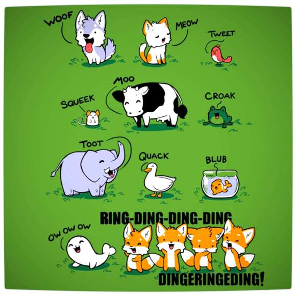 Vamers - Artistry - What Does The Fox Say The Animated Guide - Proper