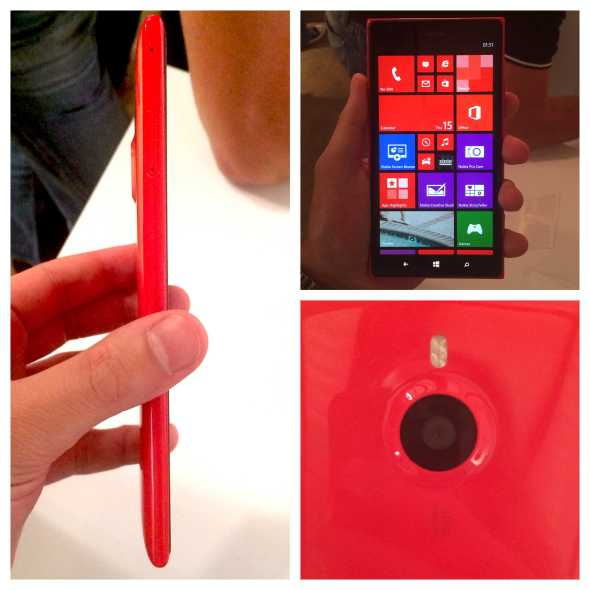 Vamers - FYI - Gadgetology - Nokia Introduces the Lumia 1520 and Asha 500 Series Smartphones - Nokia Lumia 1520 Hands On