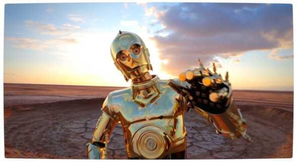 Vamers - Geekosphere - Fandom - Star Wars meets Pharrel Williams in 'Happy (We Are From Tatooine)' - Get Down with C3PO