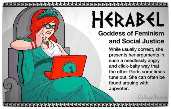 Vamers - Geekosphere - The Gods and Goddesses of the Internet Pantheon - Herabel