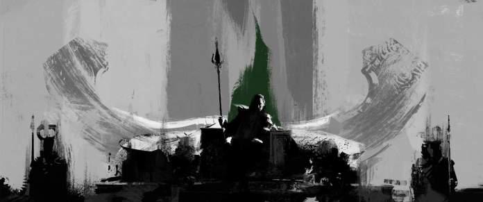 Vamers - Artistry - Thorsday - Enjoy the End Credits Artwork for 'Thor- The Dark World' on Thorsday - Loki Throne