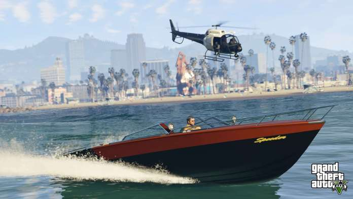 Vamers - FYI - Gaming - Grand Theft Auto V arrives November 18 on Xbox One and PlayStation 4 - Boat