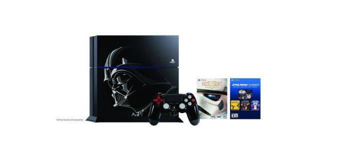 Vamers - FYI - Gaming - Come to the Dark Side with the Limited Edition Darth Vader PlayStation 4 - Bundle