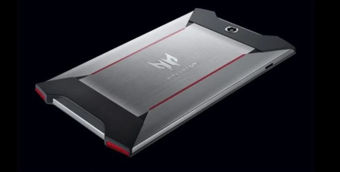 Vamers - FYI - Gadgetology - Video Gaming - Acer Announces Predator GT-810 Tablet for Gaming Enthusiasts - Rear of Device