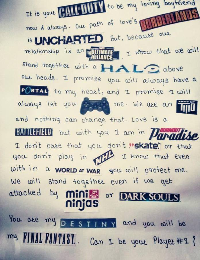 Vamers - Geekosphere - Geek Life - You Won't Believe How This Gamer Asked Out her Boyfriend - Main Image