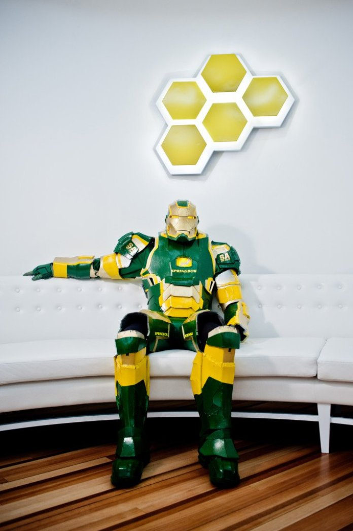 Vamers - Geekosphere - Lifestyle - Cosplay - Springbok's No. 1 Fan is Also South Africa's very own Iron Patriot - 01