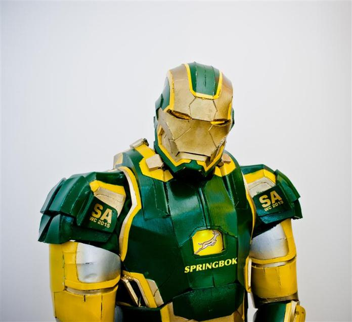 Vamers - Geekosphere - Lifestyle - Cosplay - Springbok's No. 1 Fan is Also South Africa's very own Iron Patriot - 02