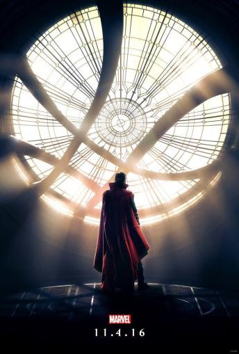 Vamers - FYI - Movies - Marvel's Doctor Strange - Official Poster - Sancton Sanctorum