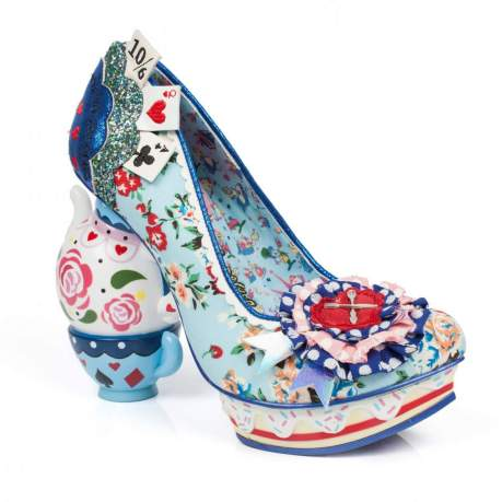 Vamers - Lifestyle - Fashion - Step into Wonderland with these Irregular Disney Inspired Shoes - One Lump or Two 01