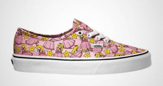 Vamers - FYI - Fashion - Geek Lifestyle - These Official Nintendo Themed Vans Are Wicked Cool - Princess Peach