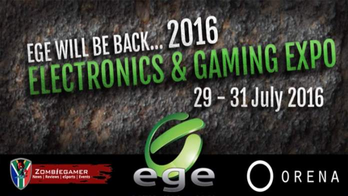 Vamers - FYI - Gaming - Events - Cape Town's Electronic Gaming Expo (EGE) is back - Banner Main