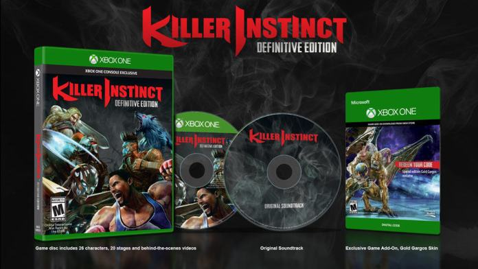 Vamers - FYI - Gaming - Killer Instinct- Definitive Edition Announced - Banner 02