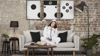 Vamers - FYI - Gaming - SUATMM - The Xbox Onesie is Glorious and was made for Gamers, By Gamers - Xbox Onesie - Couch Surfing in Style