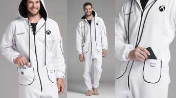 Vamers - FYI - Gaming - SUATMM - The Xbox Onesie is Glorious and was made for Gamers, By Gamers - Xbox Onesie - Main Banner 02