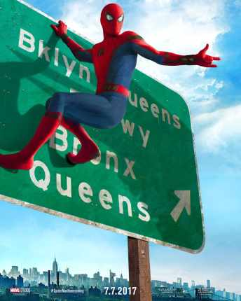 Vamers - FYI - Movies - 'Homework can wait, the City can't' in new Spider-Man Homecoming Posters - 01
