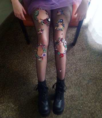 Vamers - FYI - Geekosphere - Fashion - These Fairy Tale and Mermaid Stockings will bring your Fantasies to Life - 2