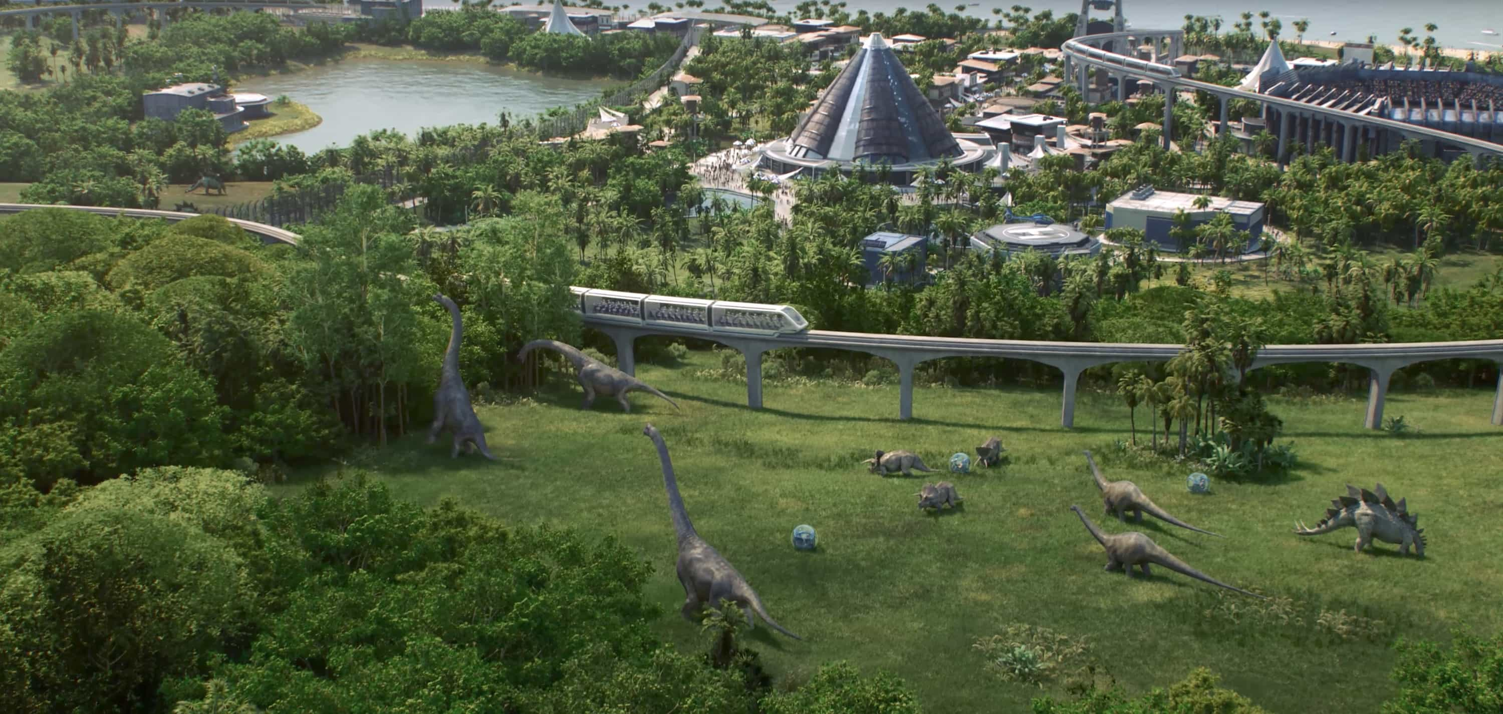 Build Your Own Jurassic Park With Jurassic World Evolution