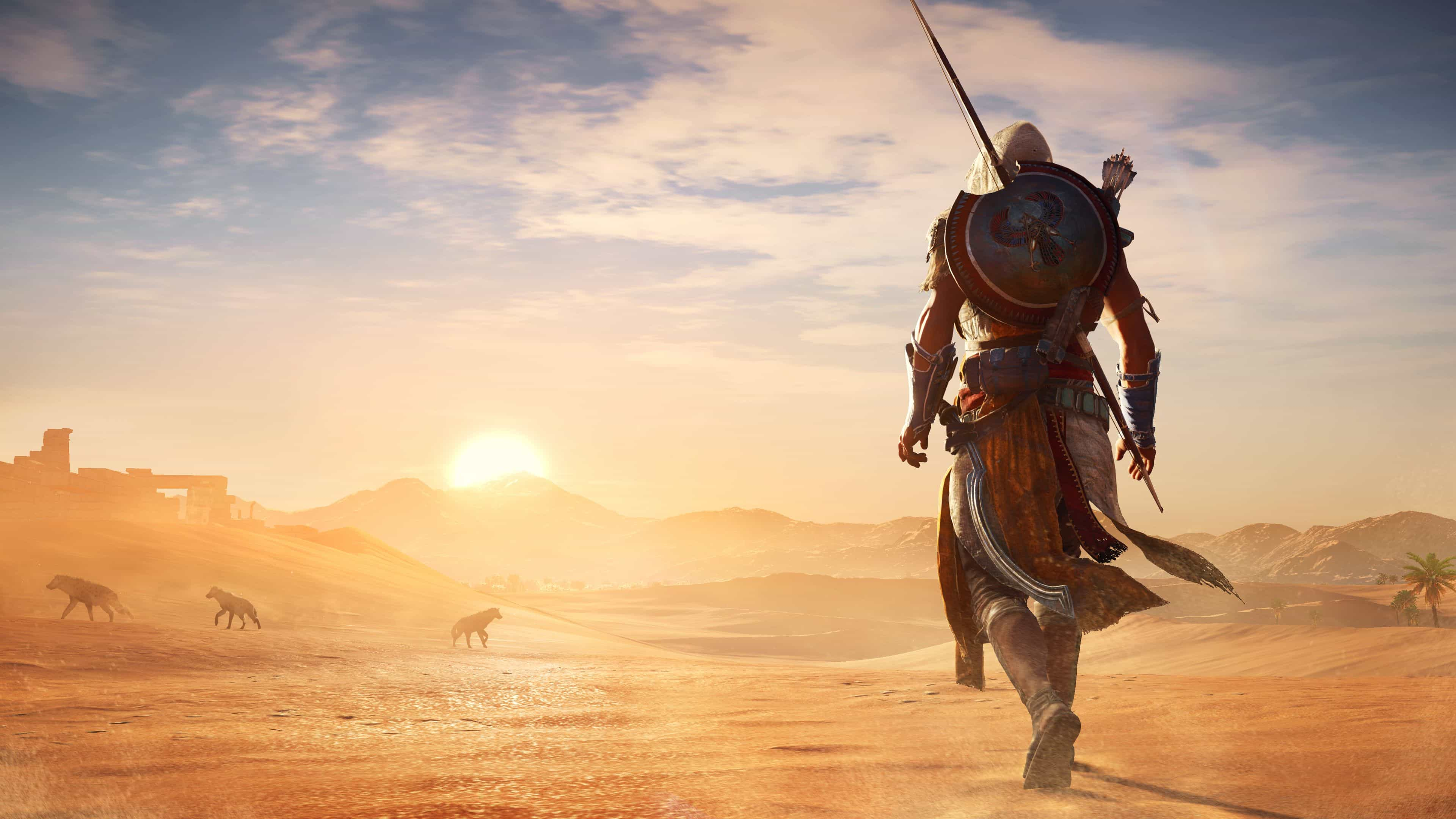 Here's Assassin's Creed Origins' New Curse Of The Pharaohs DLC In 4K