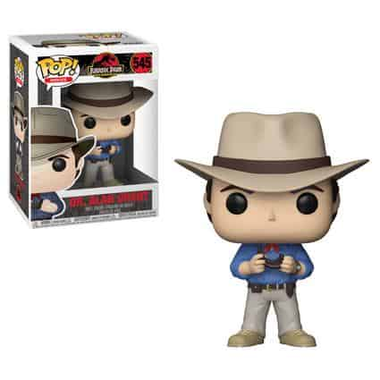 Vamers - Comics & Toys - 25th Anniversary Jurassic Park Funko Pop Collection includes sexy Ian Malcolm - 1