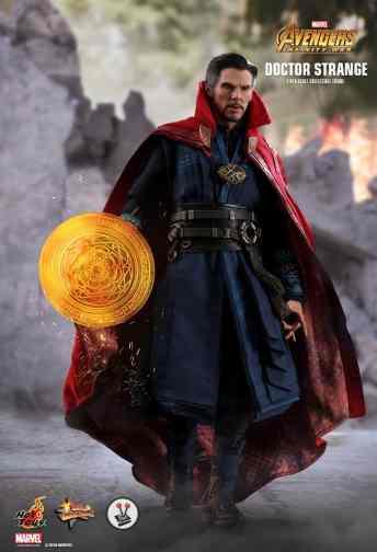 Vamers Store - Hot Toys - Avengers Infinity War - Doctor Strange- MMS484 - 22