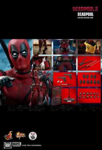 Vamers Store - Hot Toys - MMS490 - Deadpool 2 - Deadpool - 32