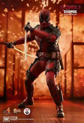 Vamers Store - Hot Toys - MMS490 - Deadpool 2 - Deadpool - 9