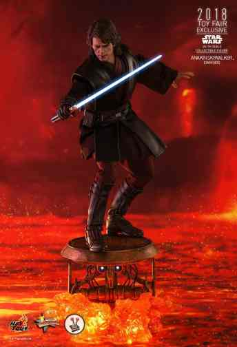 Vamers Store - Hot Toys - MMS486 - Star Wars Ep. III - Anakin SKywalker (Darkside) - Toy Fair Exclusive - 1