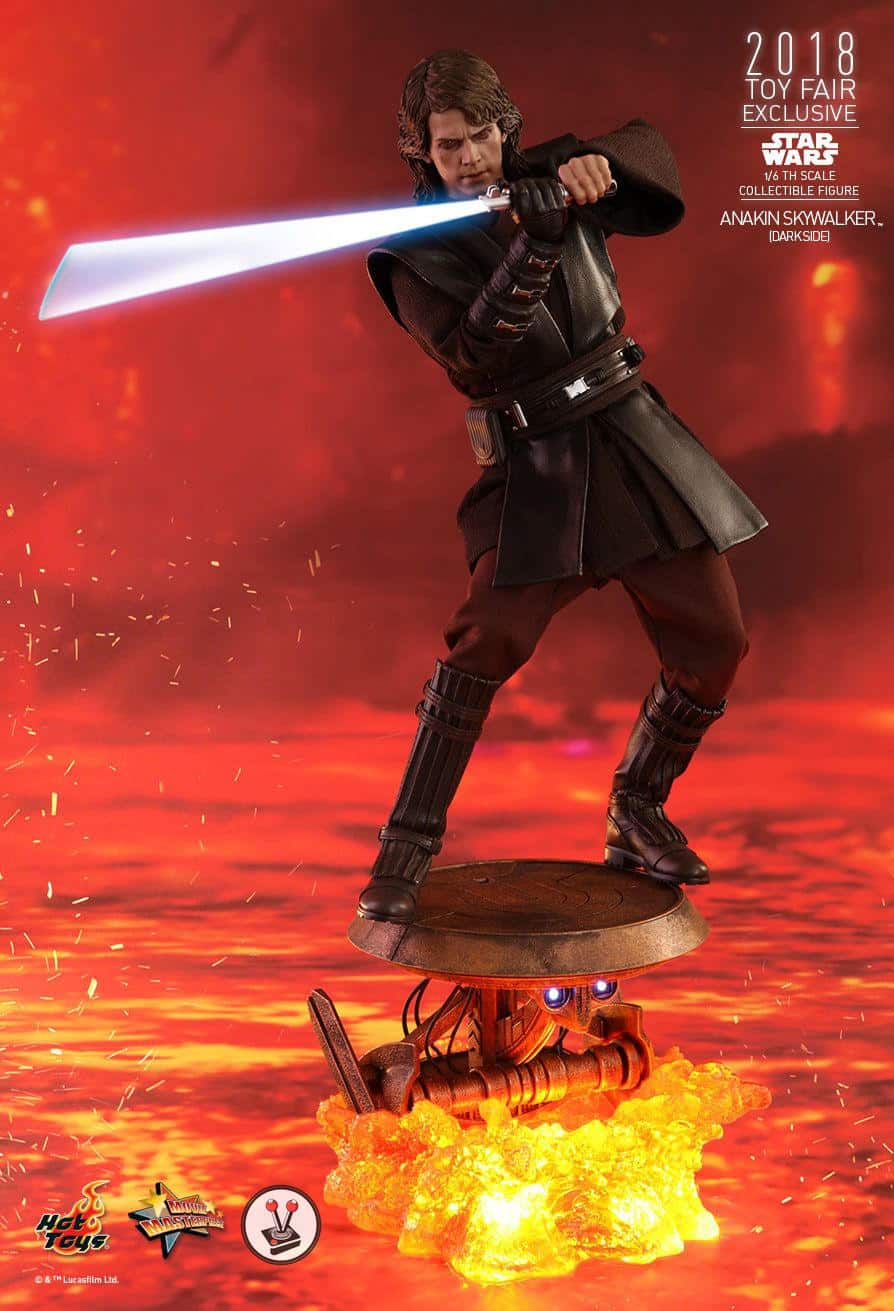 Hot Toys Anakin Skywalker Dark Side version is a Sith Lord ...