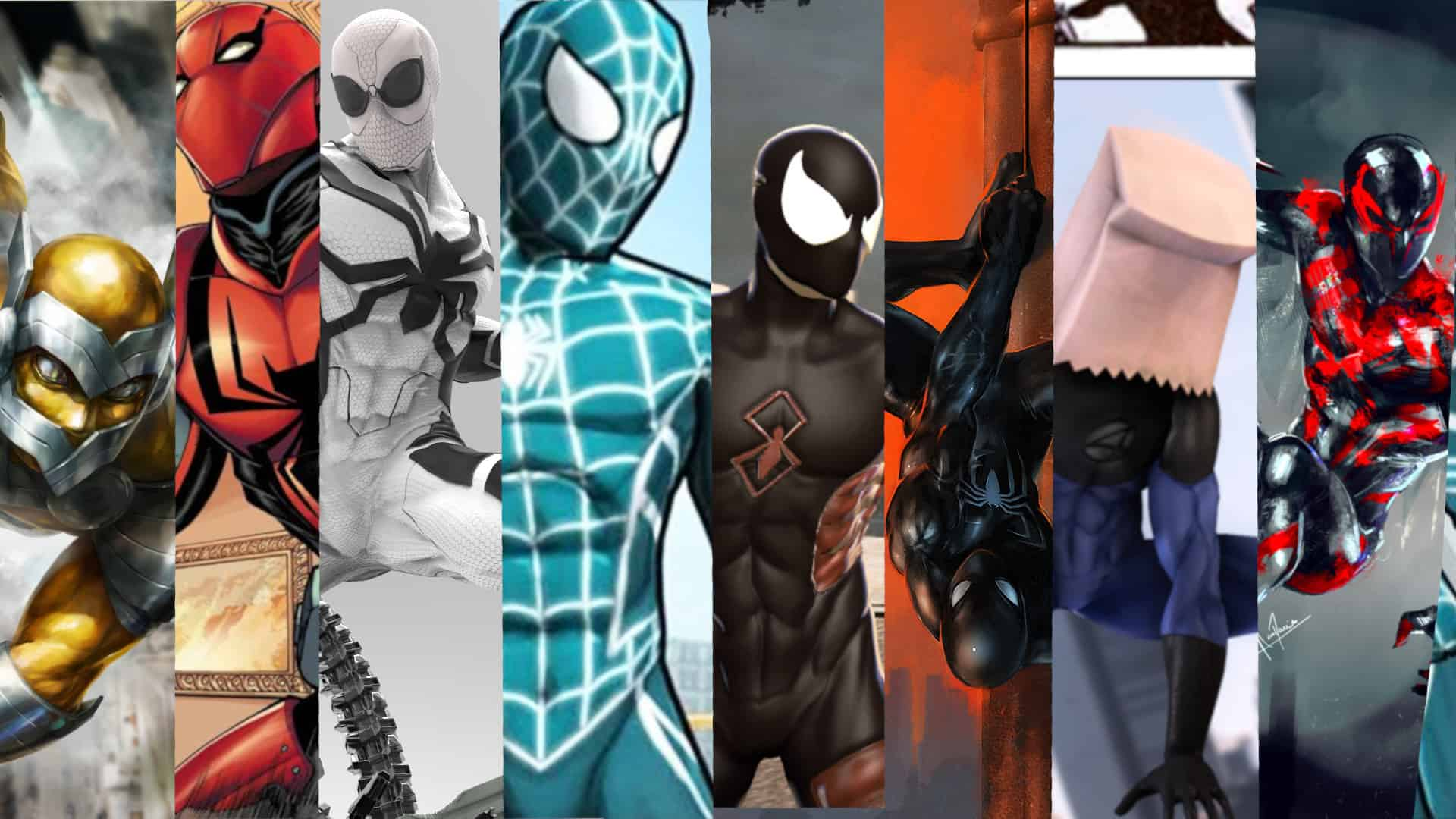 eight spider-man suits that we want to see in marvel's spider-man