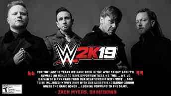 Vamers - Gaming - 2K just announced the WWE 2K19 Soundtrack - 02