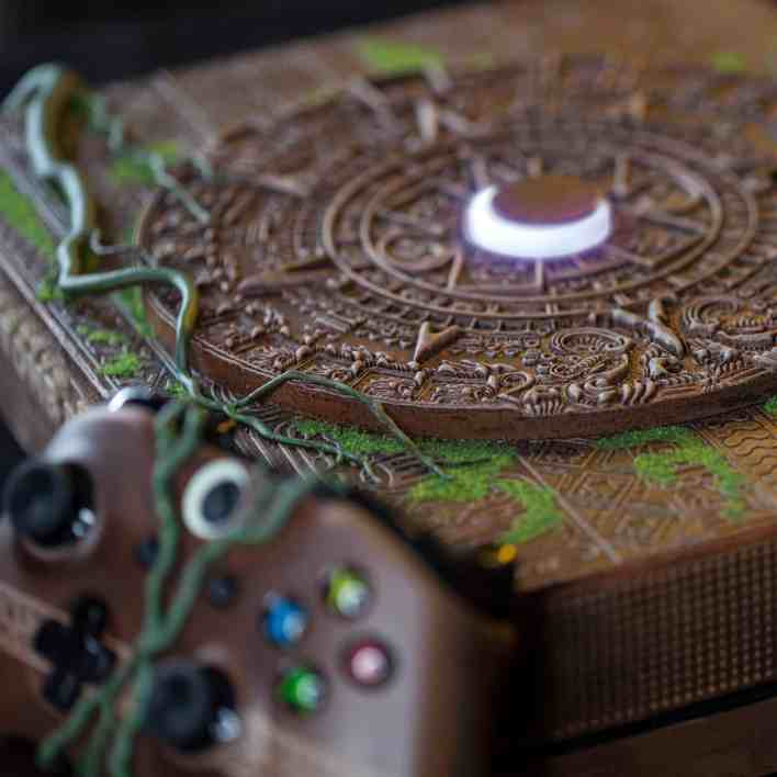Vamers - Gaming - Mayan inspired Custom Shadow of the Tomb Raider Xbox One X is Gorgeous - 4