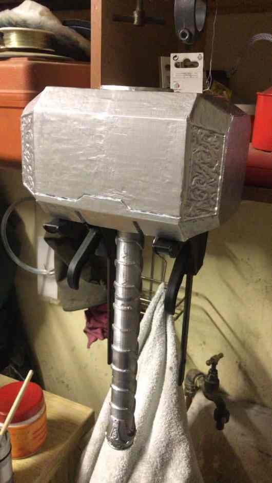 Vamers - Lifestyle - Cosplay - Creating Mjolnir for Comic Con Africa - 6