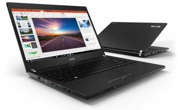 Acer TravelMate P6 promises 20 hours of battery life