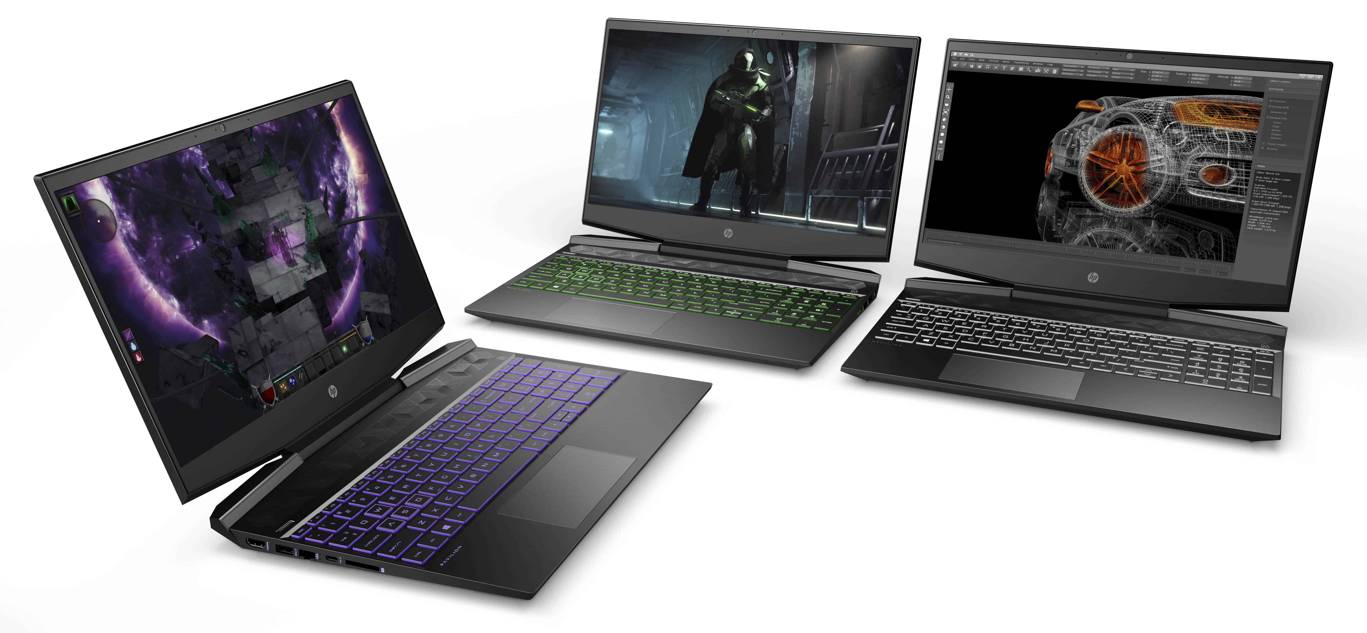 Omen by HP and HP Pavilion updated with state-of-the-art specs