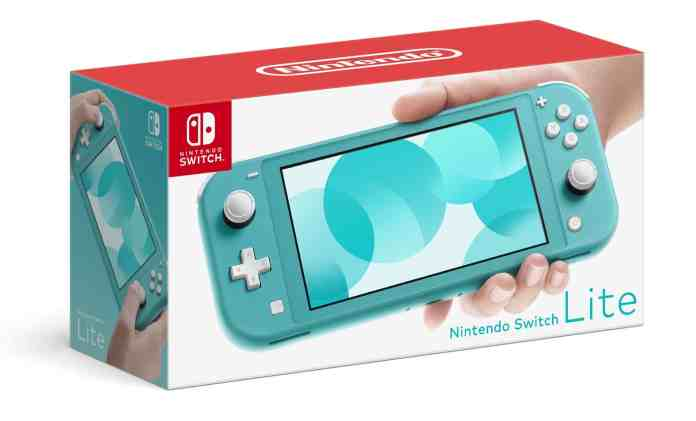 Nintendo Switch Lite is smaller, lighter and cheaper