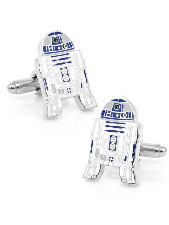 Vamers Store - Merchandise - Geek Chic - Accessories - Cufflinks - Star Wars Inspired R2-D2 Cufflinks 01