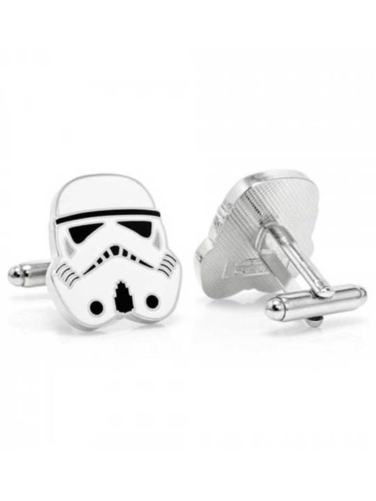 Vamers Store - Merchandise - Geek Chic - Accessories - Cufflinks - Star Wars inspired Stormtrooper Cufflinks - 02