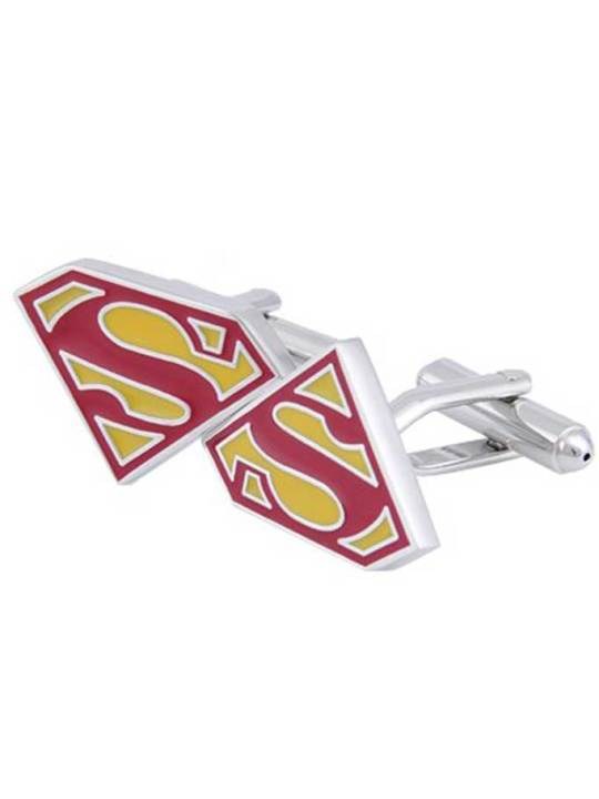 Vamers Store - Merchandise - Geek Chic - Accessories - Cufflinks - Superman Symbol Cufflinks - 02