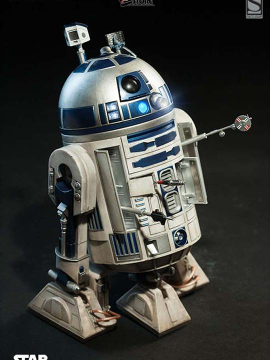 Vamers Store - Sideshow Collectibles - VS-SSC-R2D2DLX - R2-D2 Deluxe Limited Edition Collectible Figurine 13