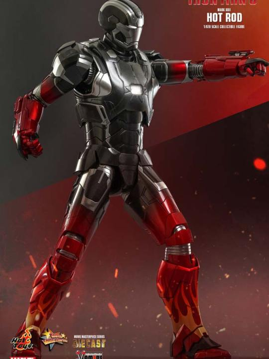 Hot Toys - MMS272D08 - Iron Man 3 - Mark XXII Hot Rod  - 01