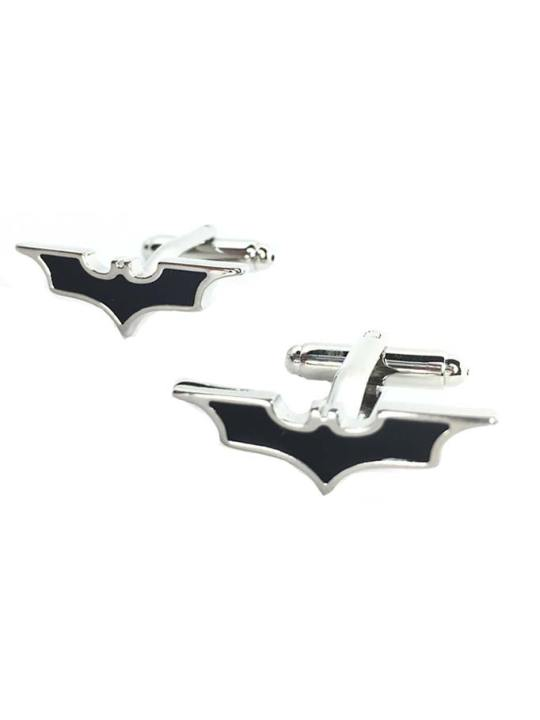 Vamers Store - Merchandise - Geek Chic - Accessories - Cufflinks - Batman Inspired The Dark Knight Symbol Cufflinks 04