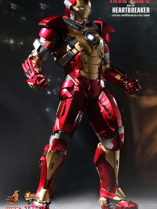 Vamers Store - Hot Toys - MMS212 - Iron Man 3 - Iron Man Mark XVII Heartbreaker 01