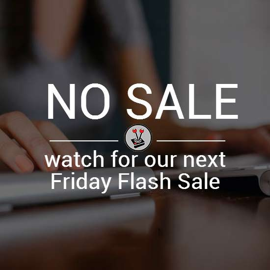 Vamers Store - Advertising - Flash Sale Friday Promo - No Sale Right Now