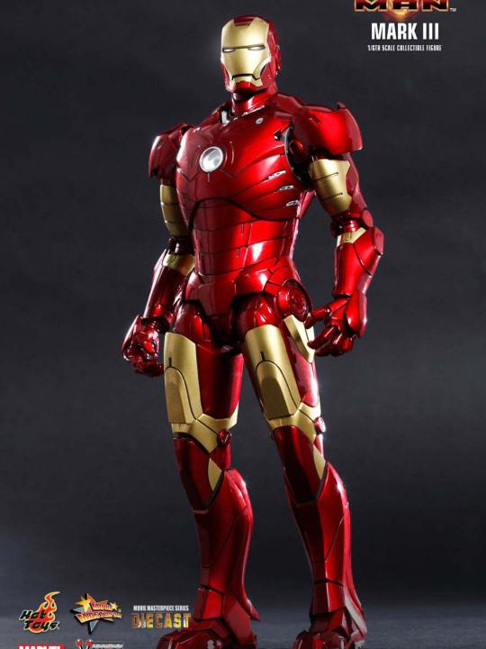 Vamers Store - Hot Toys - MMS256D07 - Iron Man (2008) -  Diecast Iron Man Mark III 01