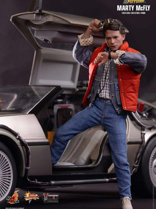 Vamers Store - Hot Toys - MMS257 - Back to the Future - Marty McFly with Bonus Guitar 01