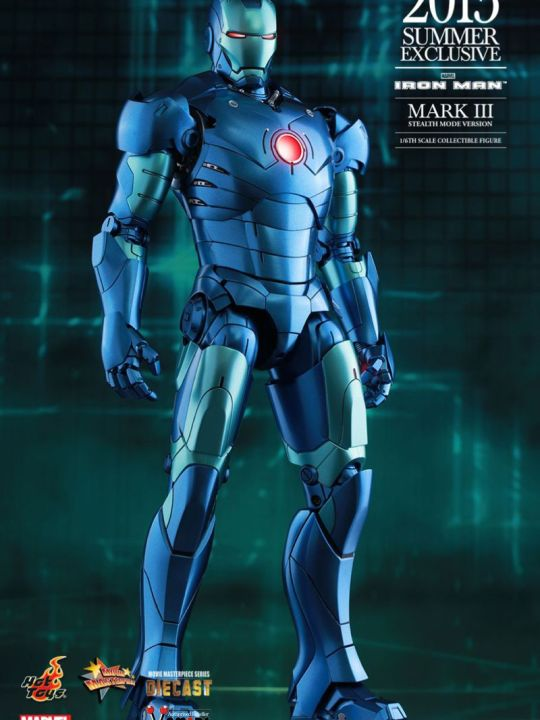 Vamers Store - Hot Toys - MMS312D14 - Iron Man - Iron Man Mark III Stealth Mode Version - 2015 Summer Exclusive - 01
